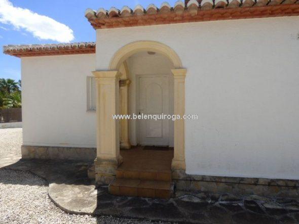 Entrada casa Belen Quiroga