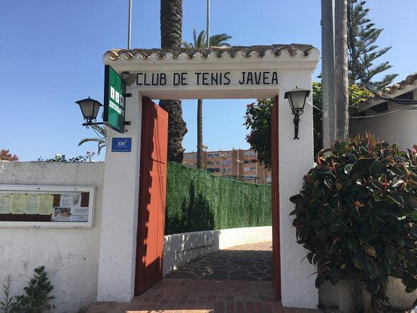 Entrada Restaurante Club de Tenis Javea