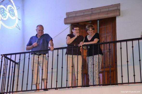 Expectación en los balcones