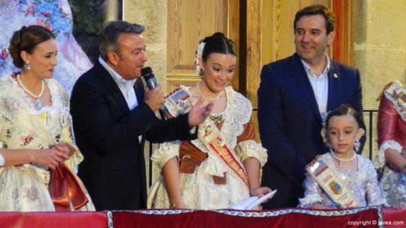 José Chulvi en el pregón de Fogueres 2016