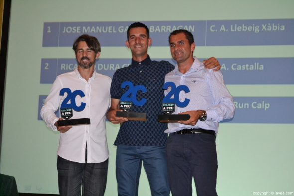 José Manuel García Barragán ganó el Circuit a Peu a la Marina Alta 2016
