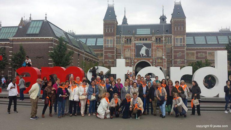 La expedición de las Amas de Casa xabieras en Amsterdam