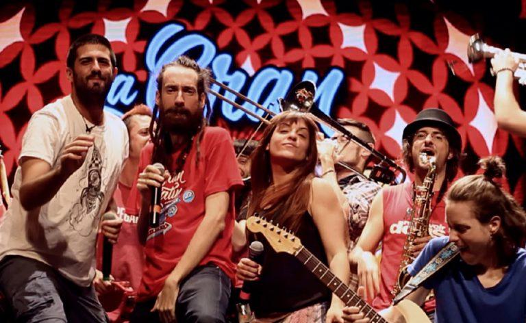 La Pegatina Bing Band