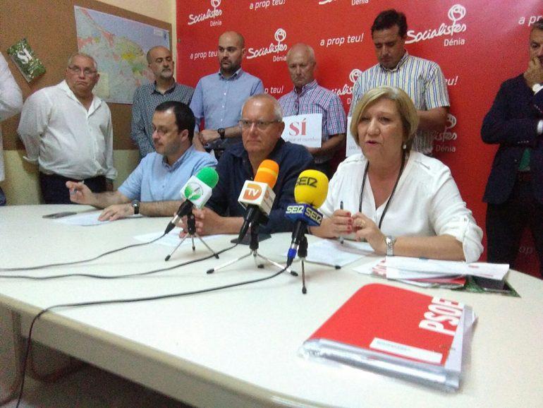Socialistas  de La Marina Alta dicen SÍ a la gratuidad de la AP7 en 2020