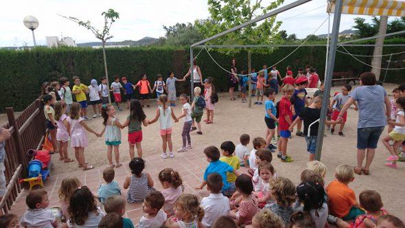 Los alumnos del Trenc d'Alba visitan la Escoleta
