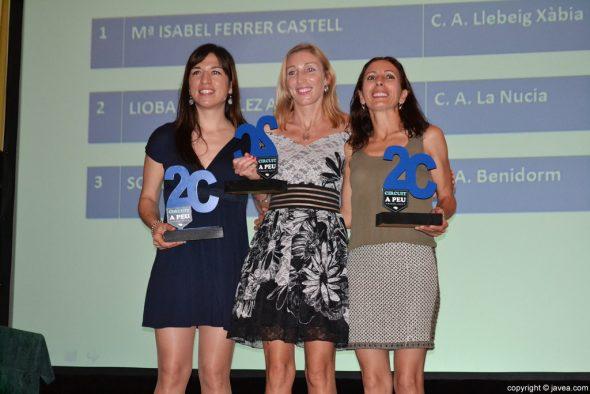 Mª Isabel Castell fue la mejor chica clasificada en el Circuit a Peu