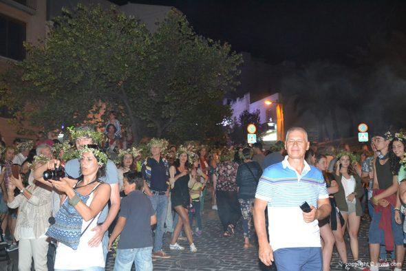 Mucha gente participó en la fiesta
