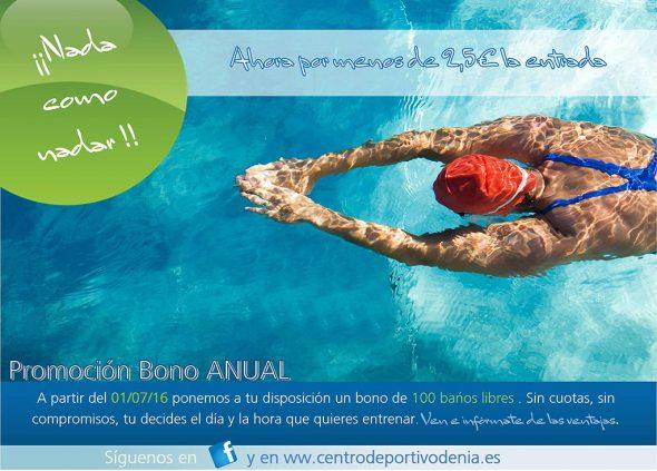 Nada como nadar Centro Depotivo Denia