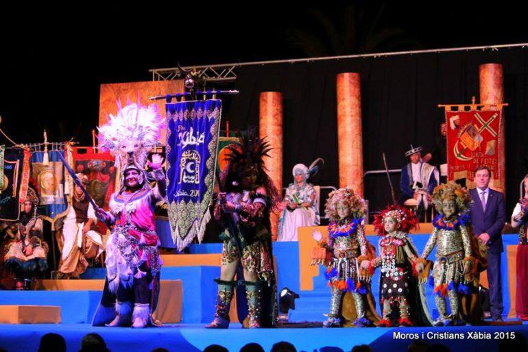 Presentación de las fiestas de Moros y Cristianos 2015 Xàbia