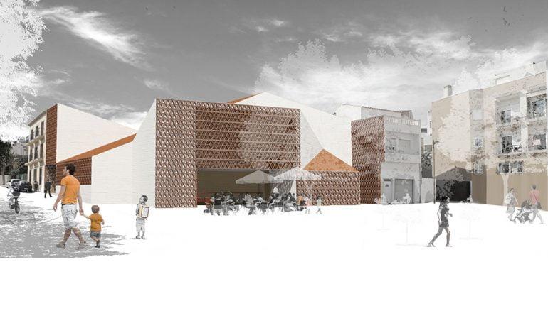 Proyecto del espacio multifuncional de Benitatxell
