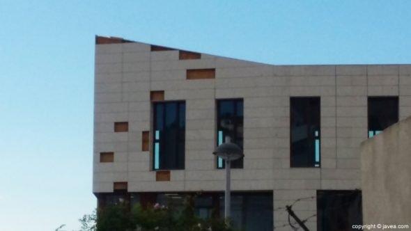 Prueba de esfuerzo en el edificio del nuevo Ayuntamiento
