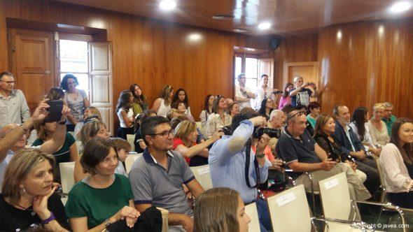 Público en el salón de plenos