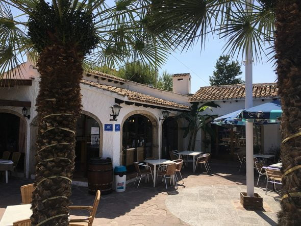Restaurante Club de Tenis terraza