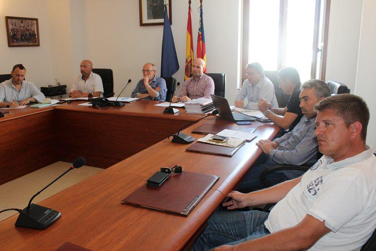 Reunión de consorcio de agua Teulada-Benitatxell