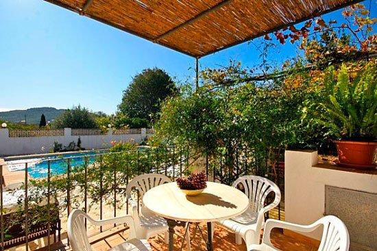 Terraza de la Casa Seniola Aguila Rent a Villa