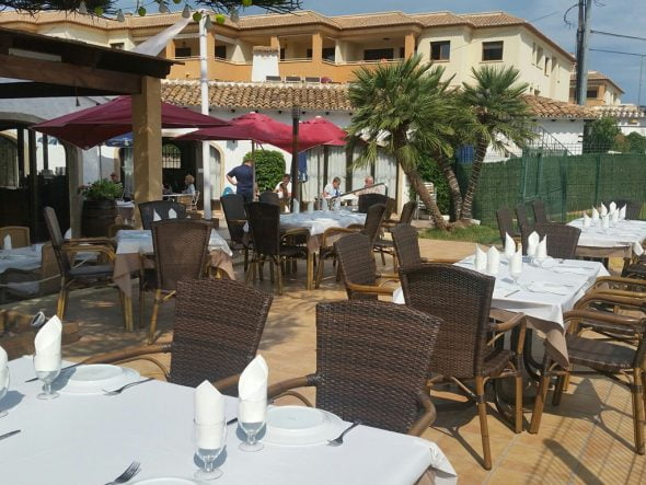 Terraza Restaurante Club de Tenis