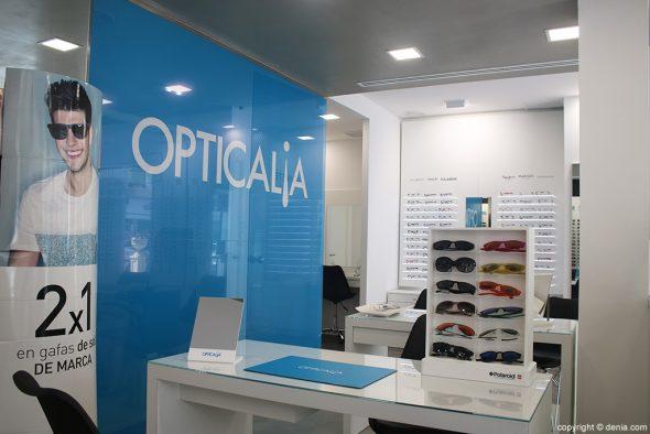 Tienda Opticalia Duanes