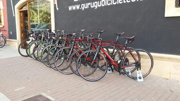 Alquiler bicicletas en Gurugú