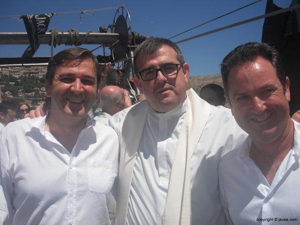Antonio Miragall, Fernando Maño y Juan José García