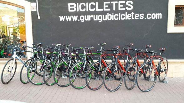 Bicicletas de Gurugú