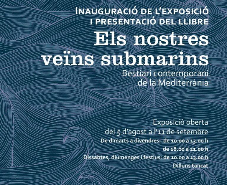 Cartel de la exposición Veïns submarins