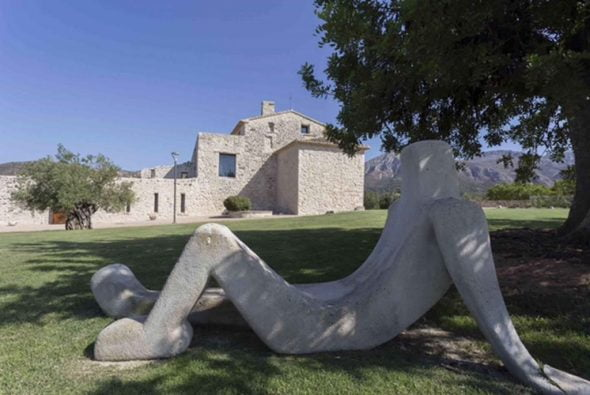 Casa Benigalip escultura
