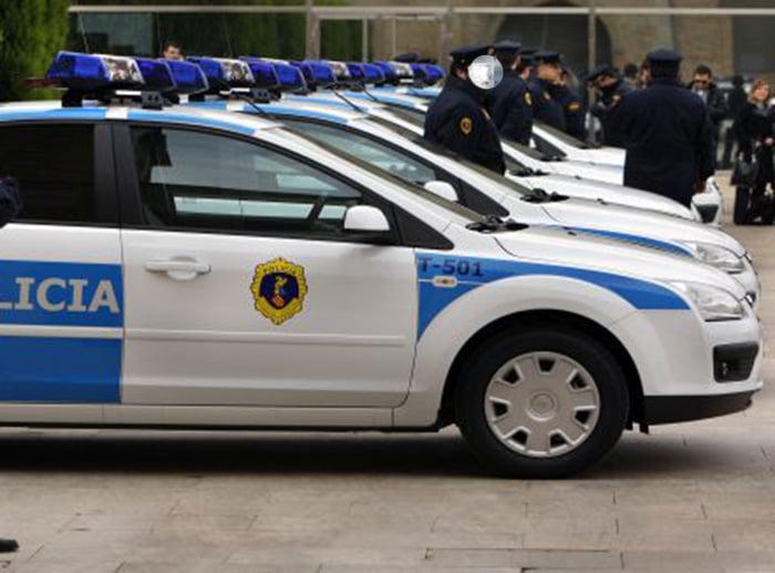 Coches de la Policía Autonómica