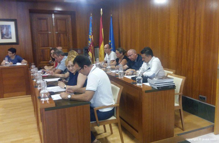 Concejales en el pleno de junio