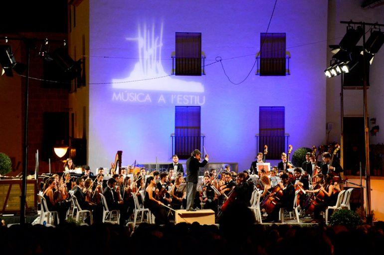 Concierto de la Jove Orquesta de la Generalitat en Xàbia