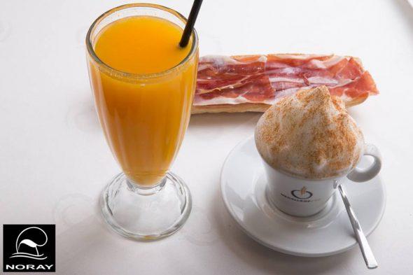 Desayuno Restaurante Noray