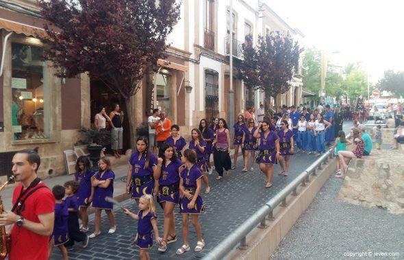 Desfile de la filà Xibia