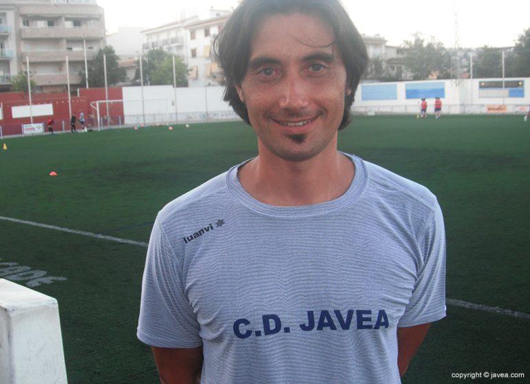 Diego Estrada, director deportivo del CD Jávea