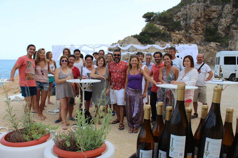 Participantes en el taller de coctelería