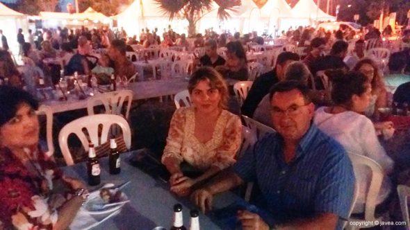 El exalcalde Juan Moragues disfrutanto del Festival