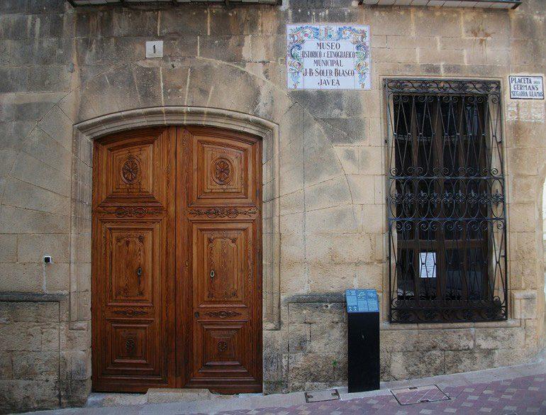 Entrada al Museu Soler Blasco