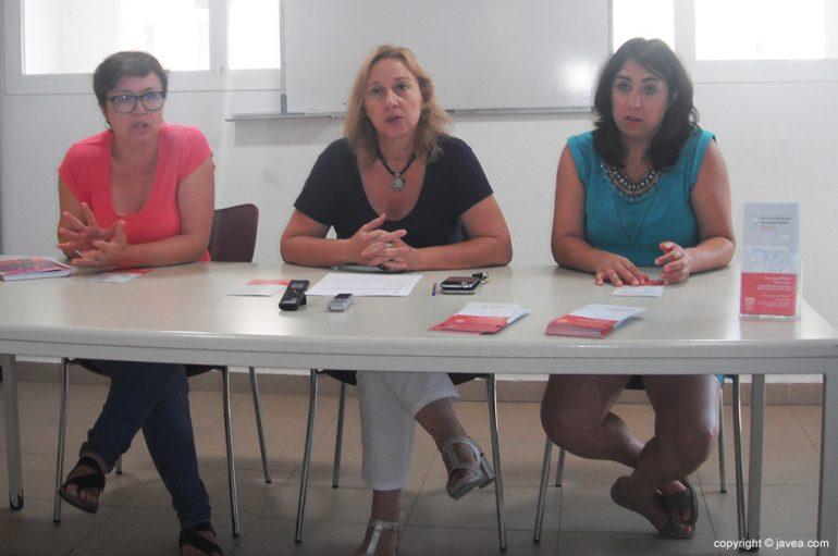 Eva Pastor, Pepa Gisbert y Paula Ivars