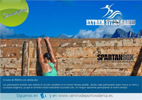 EXTREM TITAN GAMES Centro Deportivo Denia