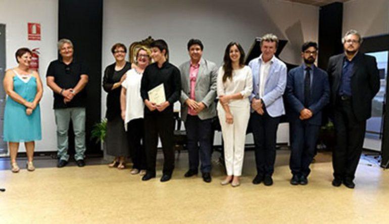 Ganadores del III Concurso Internacional de piano Vila de àbia