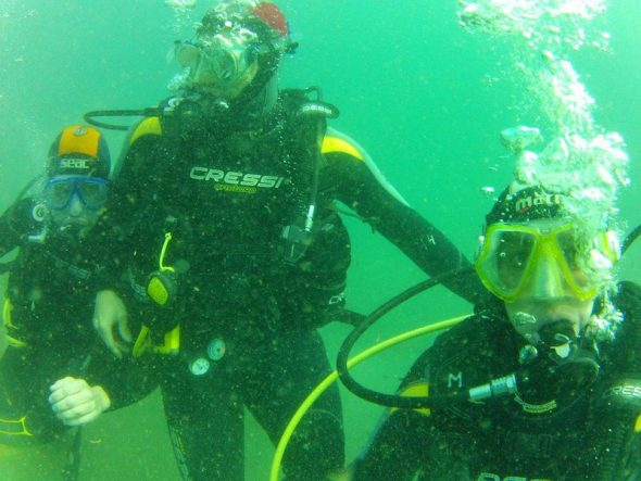 Inmersion Buceo Puerto Javea