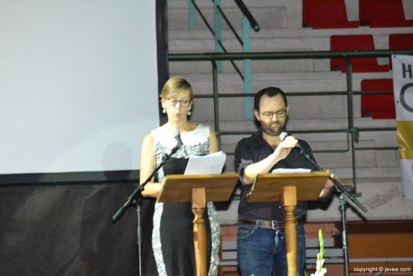 Irene Wittwer y José Vicente Miralles