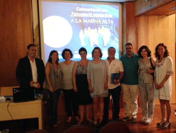 Participantes en la Jornada en Creama Xàbia