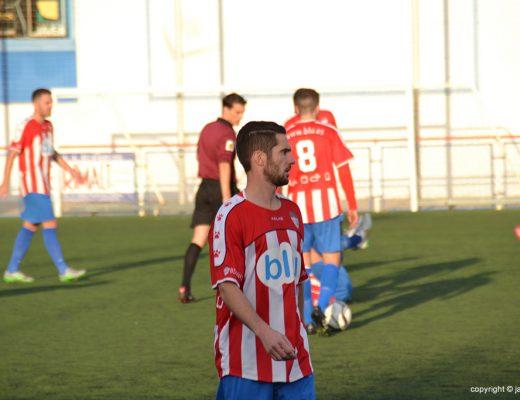 Jugadores del CD Jávea durante un partido