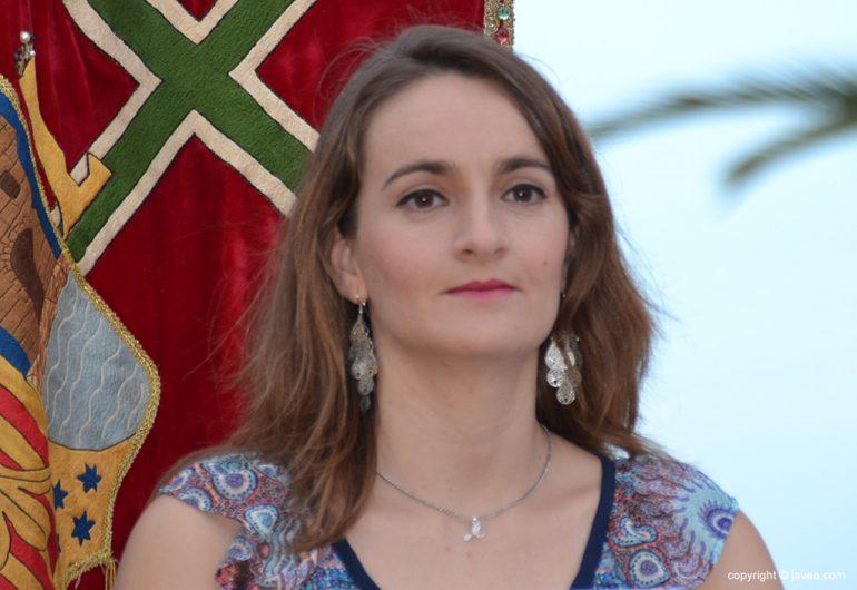 La capitana María José Fernandez