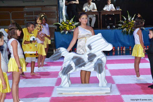 Movimiento del caballo blanco
