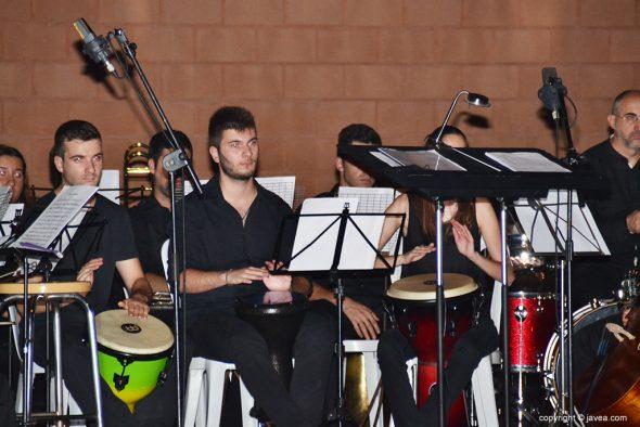 Músicos de percusión