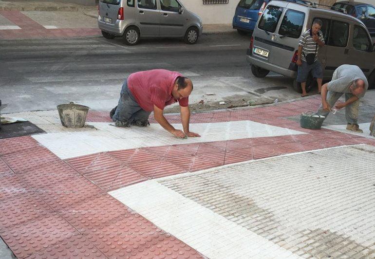 Obras de mantenimiento en Thiviers