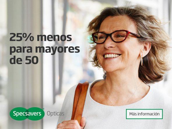 Oferta Specsavers Opticas