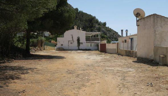 Parcela actual del antiguo cuartel de la Granadella