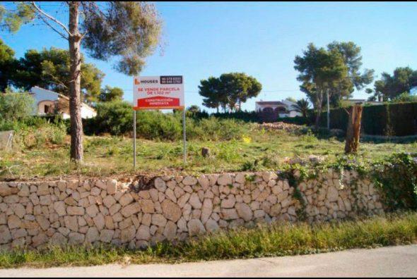 Parcela en venta Javea Houses Inmobiliaria