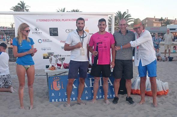 Pedro Prats mejor portero del torneo